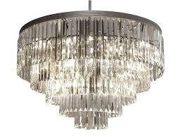enchanting 3 tier chandeliers of round crystal teardrop chandelier with design 9 glass crystals vintage modern