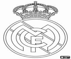 Kleurplaat Real Madrid Embleem Kleurplaten