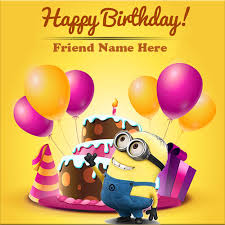 List Of Synonyms And Antonyms Of The Word Happy Birthday Minion Cake