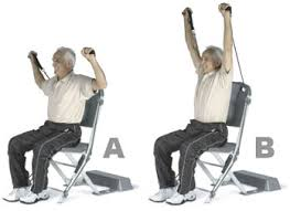 Chair Gym Exercise Chart Resistance Chair Workout Routines