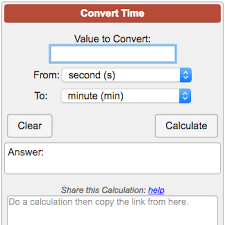 Metric Time Conversion Chart Time Conversion Calculator