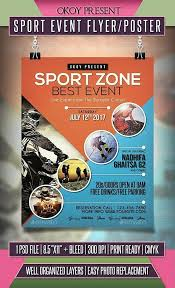 Template For Event Flyer Word Flyer Template Free Sports Templates Event Meetwithlisa Info