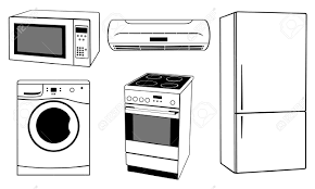 refrigerator clipart black and white. refrigerator clipart black and white f