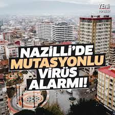 Aydın Yeni Haber - Nazilli'de mutasyonlu virüs alarmı! HABER:  https://www.aydinyenihaber.com/haber/6627408/nazillide-mutasyonlu-virus-alarmi    F