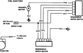 1994 s10 rear wiper motor wiring diagram fixya from autozone com