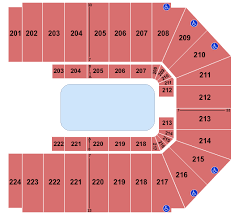Disney On Ice Indianapolis Seating Chart Ej Nutter Center Seating Charts For All 2019 Events