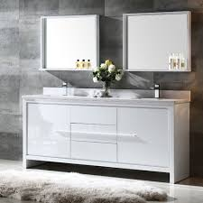 modern double sink bathroom vanities. Fresca Bath FVN8172WH Allier 72\ Modern Double Sink Bathroom Vanities W
