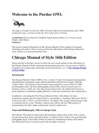 Chicago Style Guide 16 Note Typography Citation