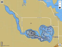 Crooked Lake Steuben County Fishing Map