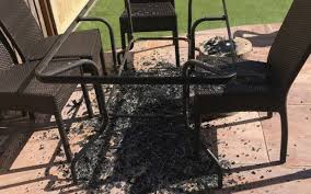 fears over argos and asda glass patio tables that explode in hot weather as heatwave set to return