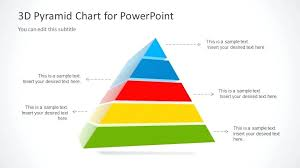Pyramid Ppt Business Pyramid Template 3 Level Diagram Graphics Free