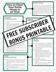 free subscriber bnous printable