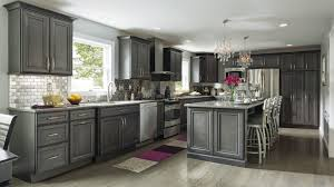 Dark Gray Kitchen Cabinets Grey Stained Oak Kitchen Cabinets Outofhome