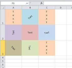 how to write ms tutorial ms excel how to write text vertically or at an angle in