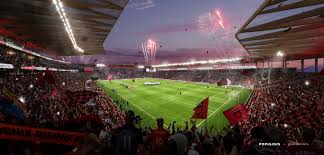 Phoenix Rising Soccer Complex Seating Chart Phoenix Rising Football Club Offers Sneak Peak Of Proposed