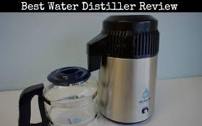 best water distiller review of 2019