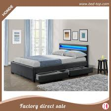 double bed top view. Latest Double Bed Design LED Leather With Storage Wood Box. View Larger Image Top