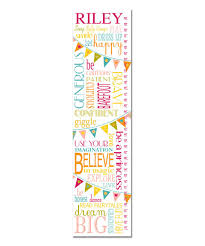 Personalized Princess Growth Chart Loving This Be A Princess Personalized Growth Chart On