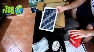 Solar Battery Powered 5050 RGB LED Strip Light Kit  WaterProof Solar Powered Lighting Kits