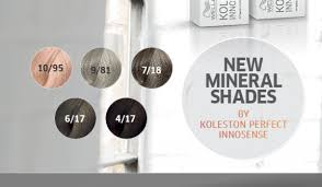 Koleston Perfect Innosense Colour Chart Salon Supplies