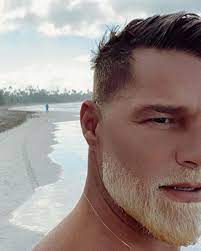 Ricky Martin Debuts Bleached Beard ...