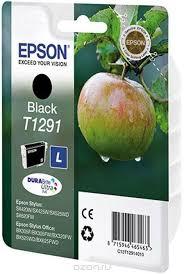 <b>Картридж Epson T1291</b>, черный, для струйного принтера, оригинал