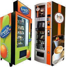 Healthy Food Vending Machines Impressive Vending Machines Make Technological Advances Offering Organic