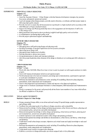 Urban Designer Resume Samples Velvet Jobs