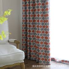 Geometric Pattern Curtains Awesome Boreal Europe Style Shade Curtains Geometric Pattern Printing