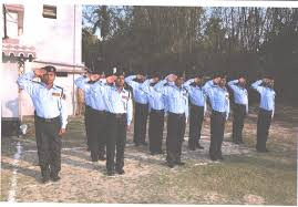 training group security services opc pvt job training for 7 days by training officer field officer site in charge security officer supervisor of the area where he is taught about the duties