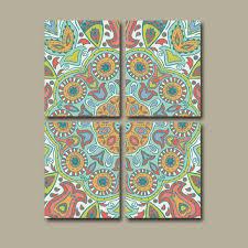 best paisley wall decor products on wanelo on paisley print wall art with amazon com aztec print geometric art pattern wall yasaman ramezani