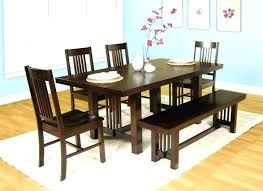wrap around bench kitchen table a very solid dining set with aroun