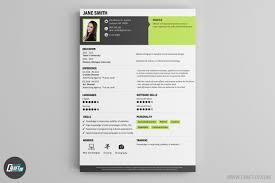 Modern Resume Color Cv Maker Professional Cv Examples Online Cv Builder