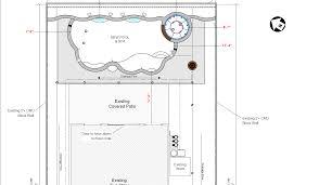Swimming Pool Drafting Service Custom Pool Plans