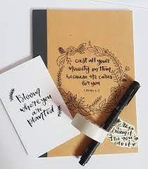 Customised notebook set //christmas special//, Design & Craft, Handmade  Craft on Carousell