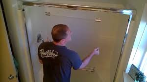 Shower Door clean shower door photographs : How to (remove & clean) glass shower doors. - YouTube