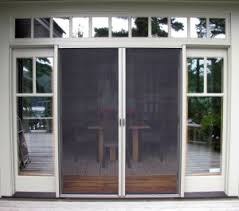 double french doors french screen
