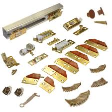 Johnson Hardware 100FD Series 96 in. Track and Hardware Set for 4 ...