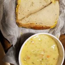 photo of bruegger s bagels east milton ma united states grilled cheese on