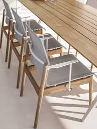 GLOSTER Sway Teak chairs Split table GLOSTER Pinterest
