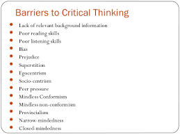 Examples of critical thinking in the workplace      In American Management Association     s critical skills survey       respondents emphasized on   C     s  Critical thinking and problem solving