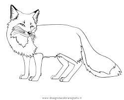 Disegno Volpe Animali Da Colorare
