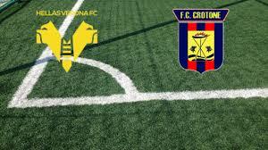 Verona - Crotone Streaming Gratis Come vedere diretta live Tv No  Rojadirecta - Aciclico.com