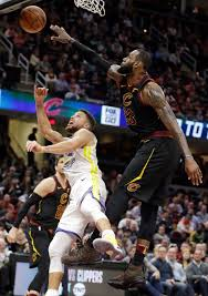 Trump responded by saying curry was uninvited. Cleveland Cavaliers Lebron James Blocks A Shot By Golden State Warriors Stephen Curry Left In T Lebron James Nba Basketball Game Cleveland Cavaliers Lebron