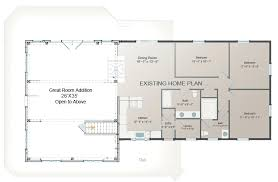 amusing ranch house addition plans new master suite brb09 5175 the designers