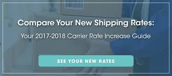 Ups Rate Chart 2018 Compare Shipping Rates In 2018 Fedex Vs Ups Vs Dhl Vs Usps