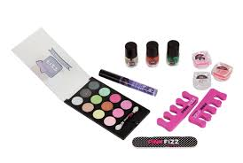 pink fizz little bow chic 11 piece makeup set color may vary walmart