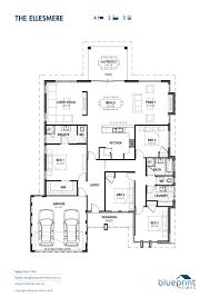 House Plan And Design Blueprint The Ellesmere Perth Home Design House Design House