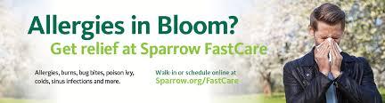 Home Sparrow Urgent Care Sparrow Health System