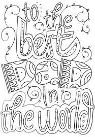 Small Picture To the Best Dad in the World coloring page Free Printable